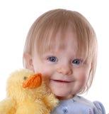 Enfant en bas âge de sourire images stock