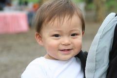 Enfant en bas âge de sourire Photos stock