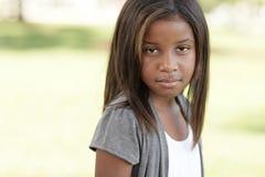 Enfant en bas âge fâché Image libre de droits