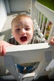 Enfant en bas âge heureux Photographie stock libre de droits