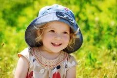 Enfant en bas âge heureux Images stock