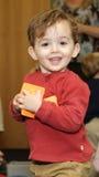 Enfant en bas âge heureux Photo libre de droits