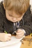 Enfant en bas âge mignon Photo libre de droits