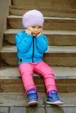 Enfant en bas âge mignon Photographie stock
