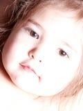 Enfant en bas âge mignon dans la sépia Photos stock