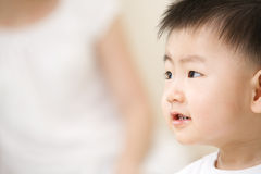 enfant en bas âge asiatique Image stock