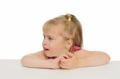 Enfant en larmes Photographie stock libre de droits