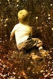 Enfant en nature Photographie stock