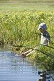Enfant en nature Image libre de droits