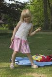 Enfant en stationnement Image stock