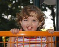 Enfant espiègle photographie stock