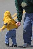 Enfant essayant de s'échapper Photo libre de droits