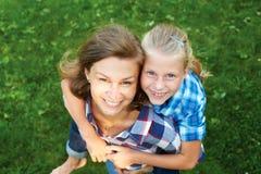 Enfant et concept heureux de parent Photographie stock libre de droits