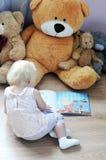 Enfant et jouets Photos stock