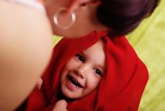 Enfant et mère Image libre de droits