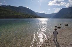 Enfant et nature Images stock