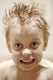 Enfant fâché Images libres de droits