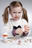 Enfant fâché Image libre de droits