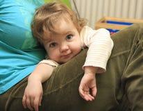 Enfant fatigué photographie stock