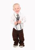 Enfant feignant pour être un docteur images stock