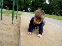 Enfant fol Image stock