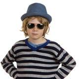 Enfant frais de garçon Photo stock
