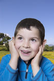 Enfant gai Photo stock
