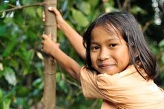 Enfant heureux Photo libre de droits