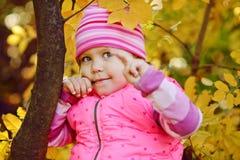 Enfant heureux avec la lucette Photos stock