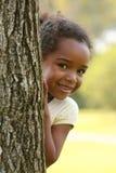 Enfant heureux d'Afro-américain image stock
