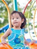 Enfant heureux, enfant asiatique de bébé photographie stock