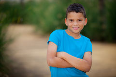 Enfant hispanique Photos stock