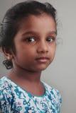 Enfant indien de fille Images libres de droits