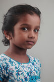 Enfant indien de fille Images stock