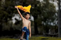 Enfant indien rural photos libres de droits