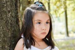 Enfant latin assez sérieux Photographie stock libre de droits