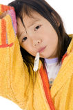 Enfant malade Photographie stock