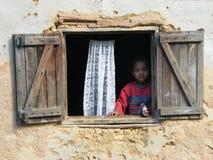 Enfant malgache Photos libres de droits