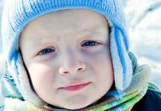 Enfant malheureux Image libre de droits