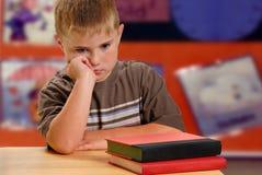 Enfant malheureux Photo libre de droits