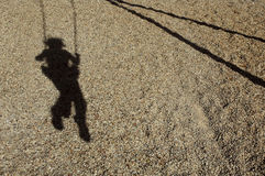 Enfant manquant Image stock