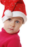 Enfant mignon de Noël Photo stock