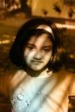 Enfant nostalgique Image libre de droits