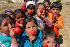 Enfant péruvien Image libre de droits