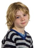 Enfant pleurant de garçon Image libre de droits