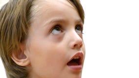 Enfant prenant la médecine banque de vidéos