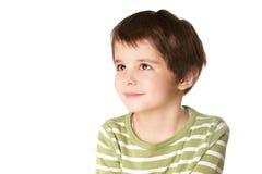 Enfant riant Photo libre de droits