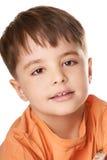 Enfant riant Photographie stock libre de droits