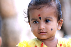 Enfant rural indien image libre de droits