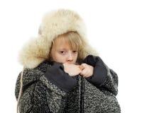 Enfant sans foyer Images libres de droits